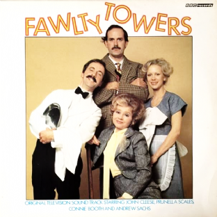 Fawlty Towers: Mrs Richards/Hotel Inspectors (LP) (EX-/VG-)